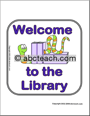 signs welcometothelibrary pw